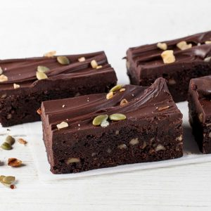 VEGAN FUDGE BROWNIE BAR 6PK