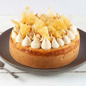 Caramel & Macadamia Cheesecake