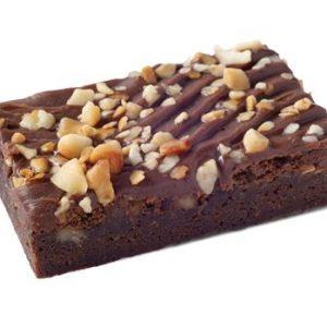 Macadamia Fudge Brownie